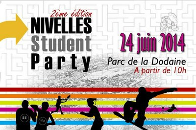 nivelles student party 2014