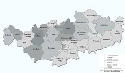 carte densité