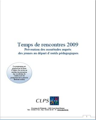 Temps de rencontres 2009