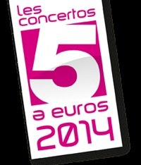 concerto à 5 €