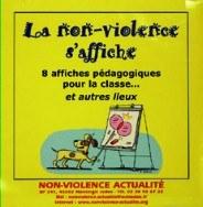 la non violence s'affiche