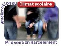 Plate-forme Amélioration du climat scolaire : prévention duharcèlement à l'école
